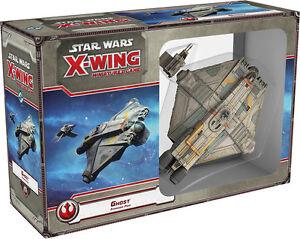 Miniature du jeu d'extension du fantôme X-wing Ghost Star Wars