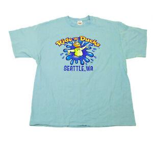 EUC-Seattle-WA-Ride-The-Ducks-Light-Blue-T-Shirt-XL
