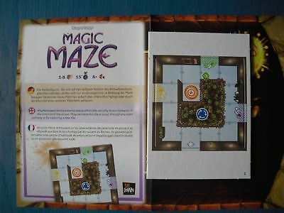 Magic Maze Board Game Promo expansion from the Brettspiel Advent Calendar 2017