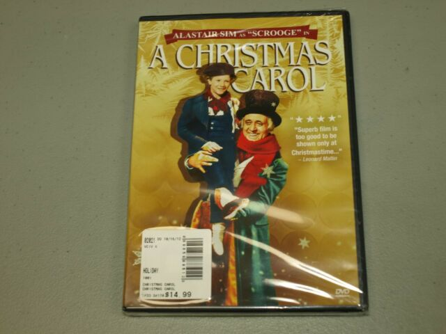 A Christmas Carol (DVD, 2012) Alastair Sim SCROOGE NEW | eBay