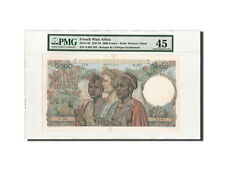 [#460074] French West Africa, 5000 Francs, 22.12.1950, PMG Ch EF45, KM:43