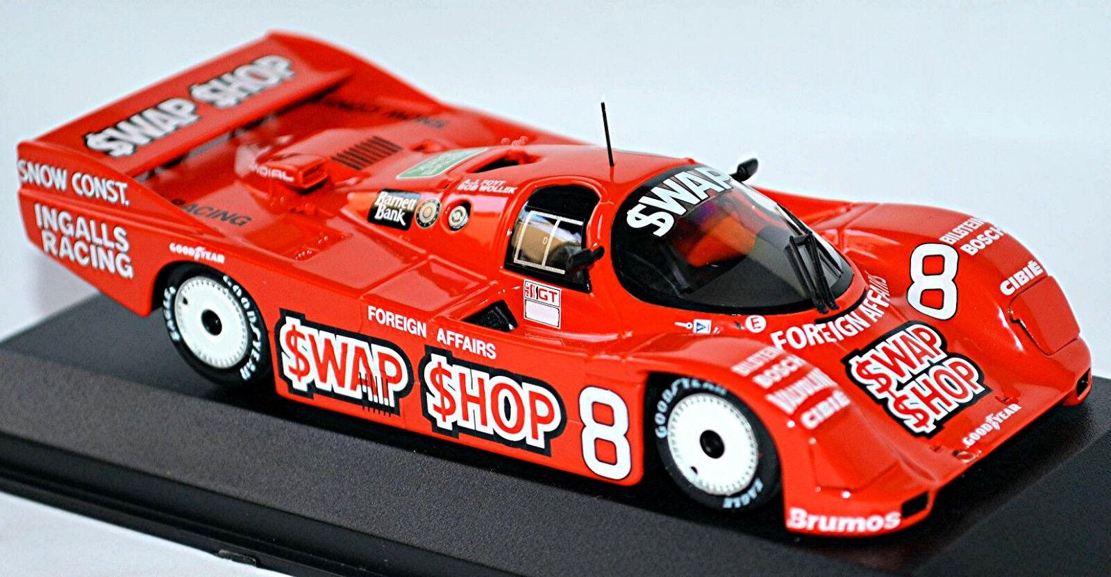 Porsche 962 IMSA WINNER 12 H Sebring 1985  8 Forty WOLLEK 1 43 Minichamps