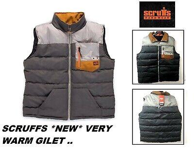 Scruffs corpo più caldo caldo Gilet Cappotto Tasche INVERNO Workwear