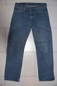Levis-Jeans-751-blau-W33-L32-gerade-21117-262