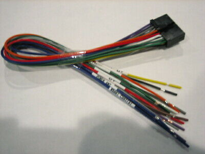 Power Acoustik Wire Harness Pd 651b, Power Acoustik Wiring Harness