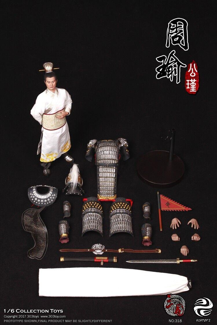 Juguetes tres reinos serie 16 Figura De Acción Macho Zhou Yu Caja _ Set Figura Juguete