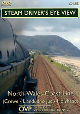 Steam Driver's Eye View - North Wales Coast Line (Crewe - Lland - Holyhead) *DVD