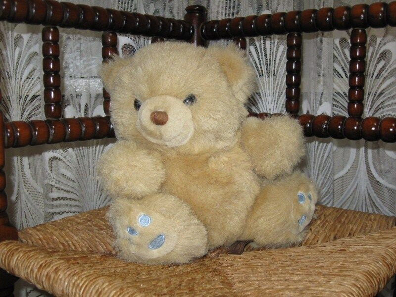 Happy Horse Holland Beige Sitting Teddy Bear 1994
