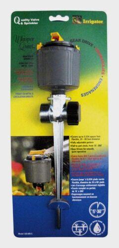 Whisper Quiet Plastic Spike Full-Circle Rotating Sprinkler 5024 sqft 525030 NEW!