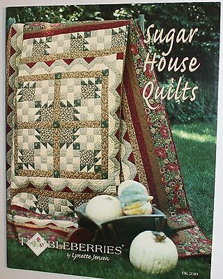 Thimbleberries Sugar House Lynette Jensen Quilting Book/Pattern 40 Bright Pages