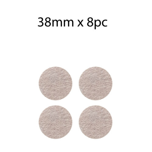 SELF ADHESIVE FELT STICKY PADS SQUARE-ROUND TABS FLOOR FURNITURE PROTECTORS