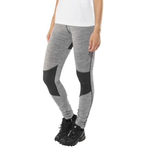 SALEWA Pedroc Dry Tights Damen magnet 2018 Laufsport Hose grau