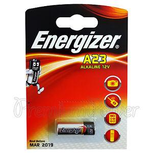 1 x energizer alkaline a23 battery 12v mn21 a23 k23a lrv08 - Pile 23a 12v ...