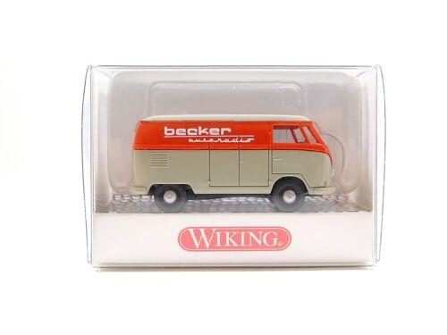 nuevo embalaje original t1 recuadro auto abastecimiento de las explotaciones Wiking h0 0788 61