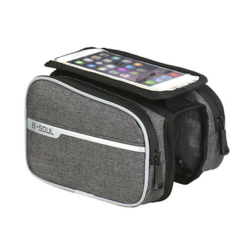 B-SOUL Mountain Bike Bag Touch Screen Mobile Phone Bag On The Tube Bag new