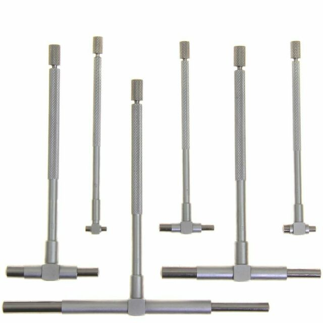 """Anytime Tools Telescopic Cylinder Bore Gauge Set 6 Piece 5//16/"""" 6/"""" High..."""