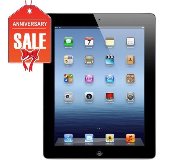 Apple iPad 3rd Gen Black Wi-Fi 9.7in 16GB