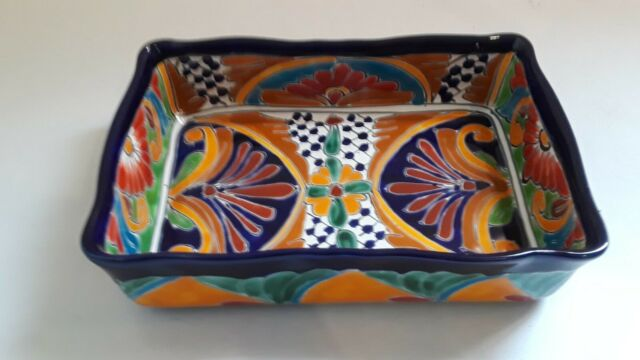 mexican pottery baking dish