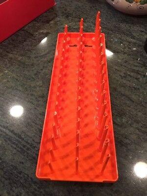 New Snap On KA383METRD 3//8 Metric Post 3 Row Socket Tray Red