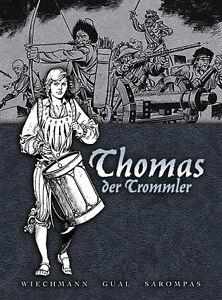 THOMAS-DER-TROMMLER-HC-Gesamtausgabe-1-HARDCOVER-Gual-Sarompas-P-Wiechmann-YPS