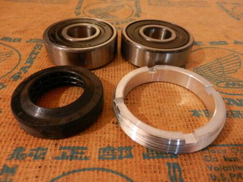 Honda CB 350 400 Four Radlager Dichtring Satz vorne bearing seal set front wheel