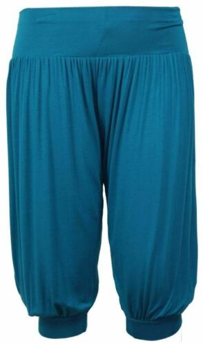 Ladies Ali Baba Harem 3//4 Trousers Leggings Baggy Aladdin Boho Hippy Plus Size