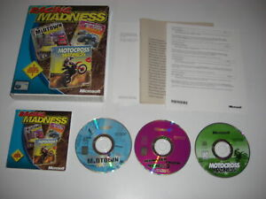 Racing Madness Pc 3 Games Midtown Motocross Monster Truck Madness 2 Big Box Ebay