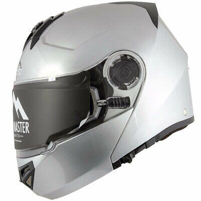 Snow Master TX-50 Glossy Black Modular Dual Use Snowmobile and Street Helmet Small