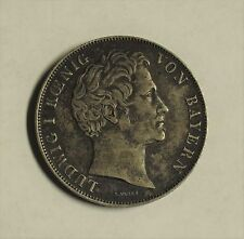 1848 Zwey Gulden Silver Coin ~ Ludwig I Konig Von Bayern