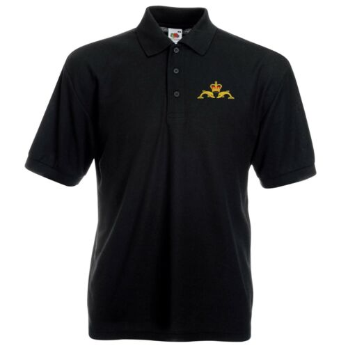 Navy Submariners Polo Shirt with Embroidered Logo
