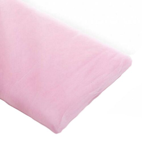 """{54""""x 40 Yards Bolt} Baby Pink Tulle Fabric Bolt Style#35353"""