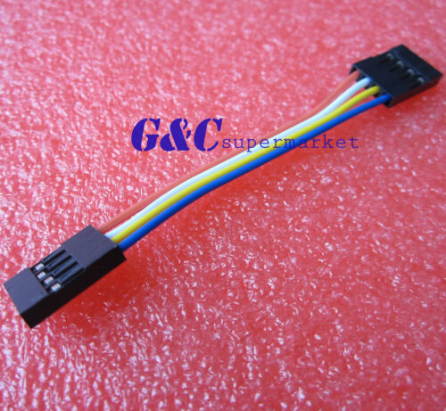 50PCS  Dupont Wire Jumper Cable 2.54mm 80mm 4-Pin Female Connector J2
