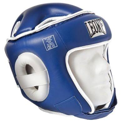2019 Ultimo Disegno Casco Leone Sport Combat Cs410 Protezione Thay/kick - Caschetto - Blu - L