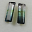 Natural Tourmaline Pair, Fancy Creative Cut, Gemstone for Earrings or Pendant