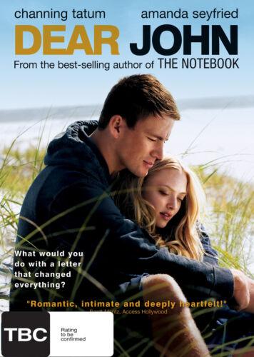 1 of 1 - Dear John Region 4 DVD, 2010 Sealed Brand New Channing Tatum