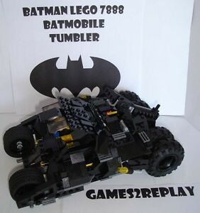 GENUINE-LEGO-BATMAN-7888-BAT-TUMBLER-BATMOBILE-100-ORIGINAL-COMPLETE-VGC