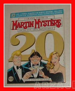 MARTIN-MYSTERE-241-Bonelli-2002-SPECIALE-VENT-039-ANNI-DI-MYSTERI-Indice-Analitico