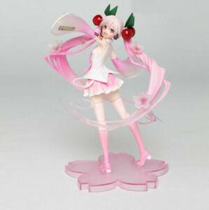Hatsune Miku Sakura Miku Anime Action Figure Collection Model Girl Toy Doll Gift