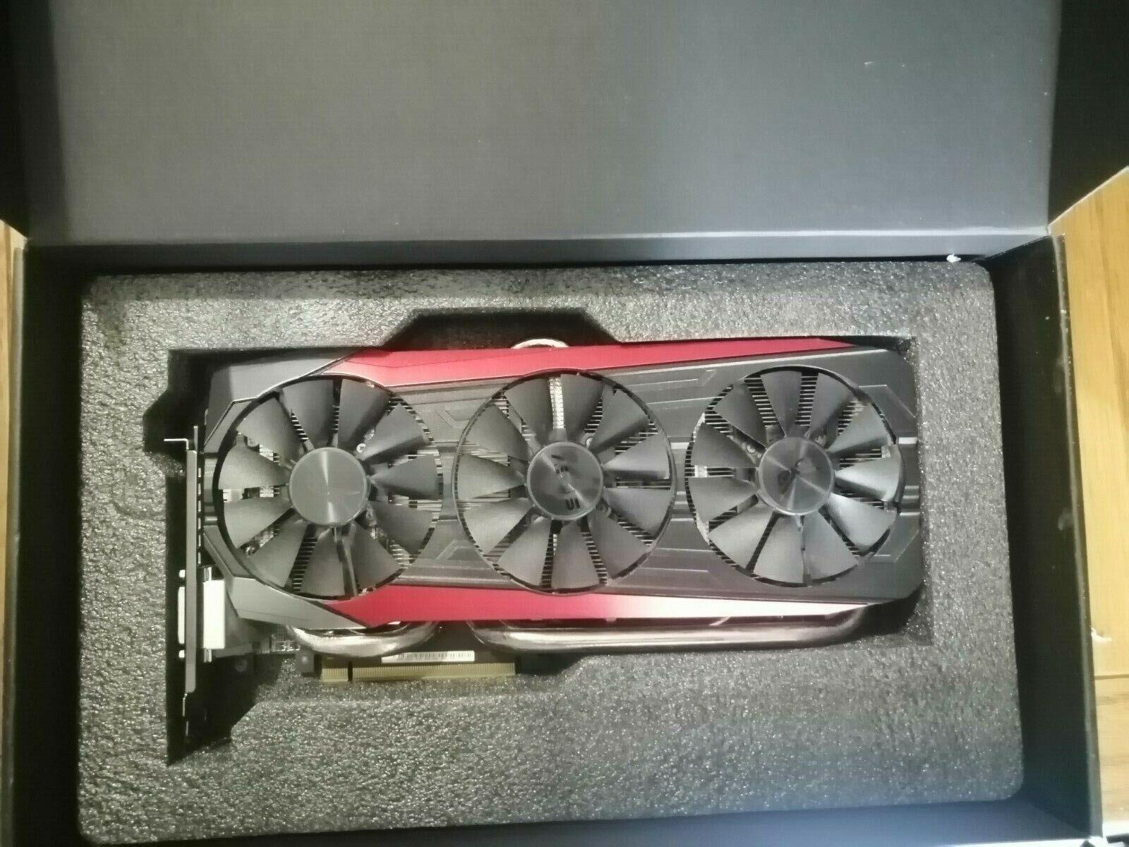 AUSUS ROG Strix R9 390X Radeon Gaming OC 8GB - Used