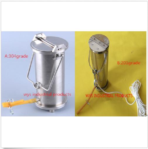 D'eau en acier inoxydable d'échantillonnage Sampler bouteille peut hydrophore voleur M