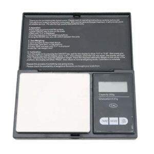 200g * 0.01g LCD Digital Pocket Weighing Scale Jewelry Gold Gram Weight Balance