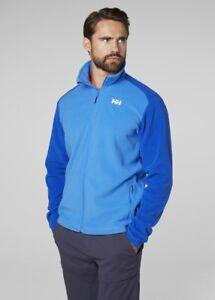 Helly-Hansen-Daybreaker-Fleece-Jacket-Polartec-100-Fleece-51598-503-Blue-NEW
