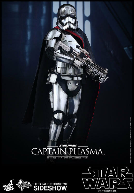 HOT TOYS Captain Phasma Star Wars 7 1 6 Scale Figure MINT NEW IN BOX