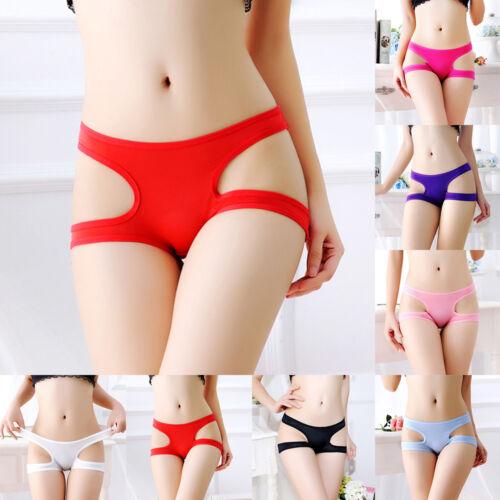 Sous-vêtements femmes Thong Bragas culottes Thong mot Slip creux vente chaude