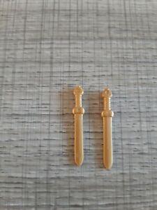 playmobil arme épée dorée chevalier romain lot de 4
