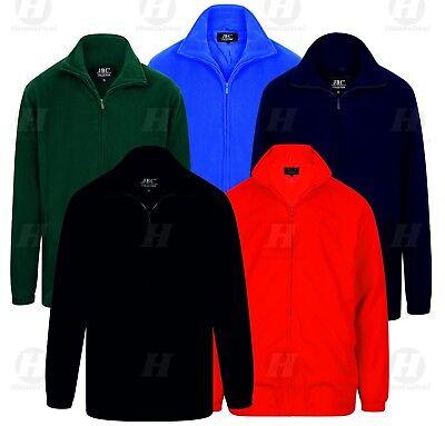 Polar Fleece Full Zip Anti Pill Winter Casual Work Plus Size Warm Jacket Unisex Spezieller Kauf
