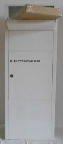 Paquet Boîte aux lettres mefA Hazel 477 Verkehrsweiß
