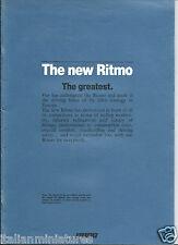 Fiat Ritmo 60 ES 70 85 105TC Super 85 Brochure Prospekt English Irlanda 1983