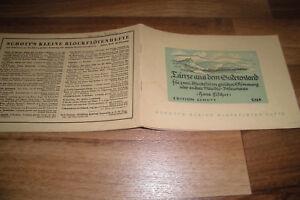 Hans-Fischer-TANZE-aus-dem-SUDETENLAND-Schott-s-Blockfloeten-Hefte-1939