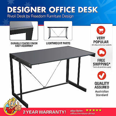 Office Desk, Computer Study Furniture Desks Rivoli Freedom Student, Home, Metal